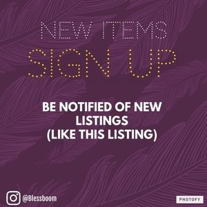 LIKE THIS LIST TO RECEIVE NOTIFICATIONS!!!